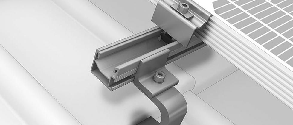 konstrukcje dachowe pv dachowka – SingleRail K2