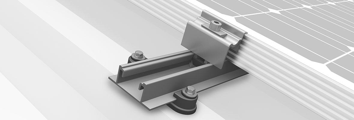 konstrukcje dachowe pv blacha trapezowa SpeedRail K2