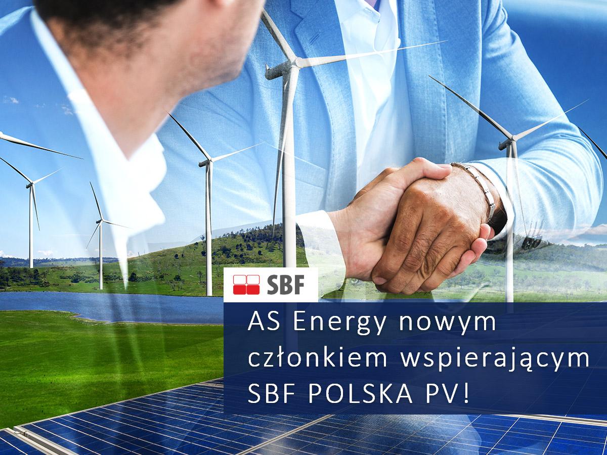 AS Energy czlonkiem wspierajacym Stowarzyszenia Branzy Fotowoltaicznej w Polsce
